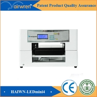 Uv Candle Flatbed Printer Cosmestics Bottle Printer For AR LED Mini4
