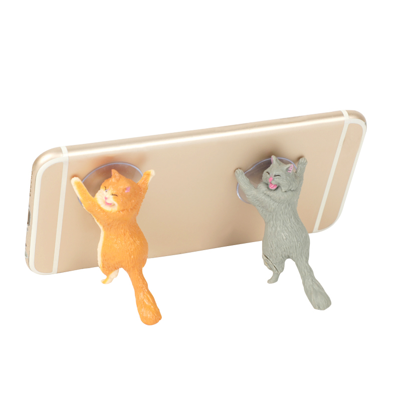 1pc Gift Cute Cat Phone Holder Stand - Universal Stand For $4.99 Wow 2