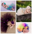 New Cute Baby Girls Tutu Design Fashion Photography Props Newborn Princess Dress Costume Outfit Infant Pettiskirt Skirt
