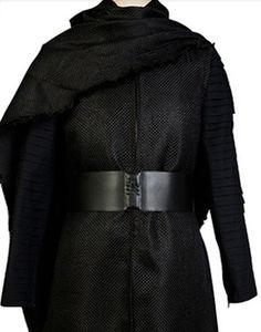 Костюм для косплея «Звездные войны 7: Пробуждение силы», «Kylo Ren», черная мантия для взрослых, костюм для Хэллоуина для мужчин и женщин