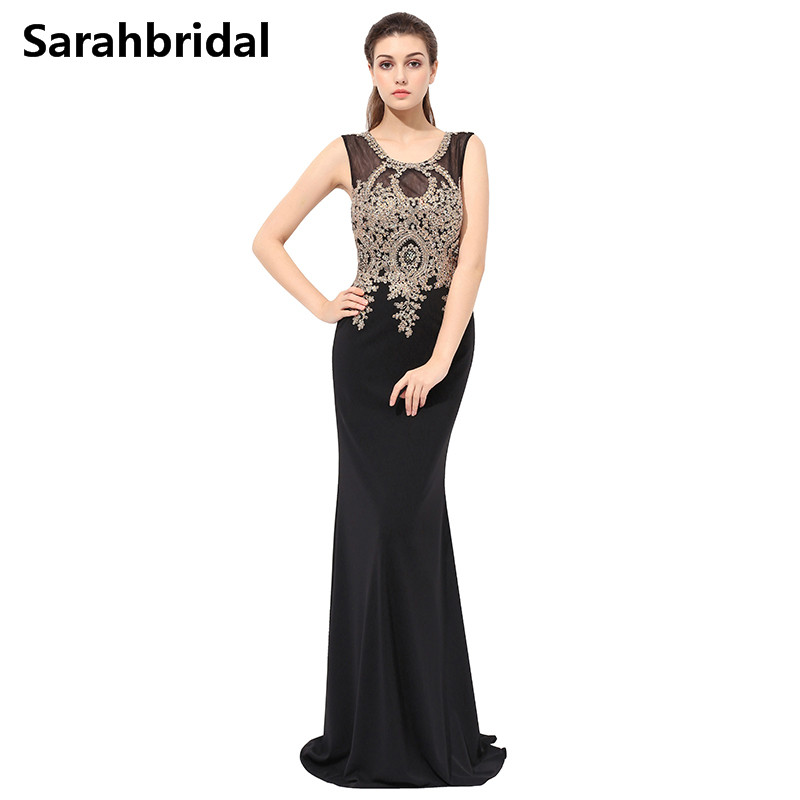 Compare Prices on Long Black Evening Gowns- Online Shopping/Buy ...