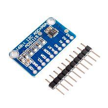 Ads1115 adc ultra compacto 16 placa de desenvolvimento de módulo de precisão adc