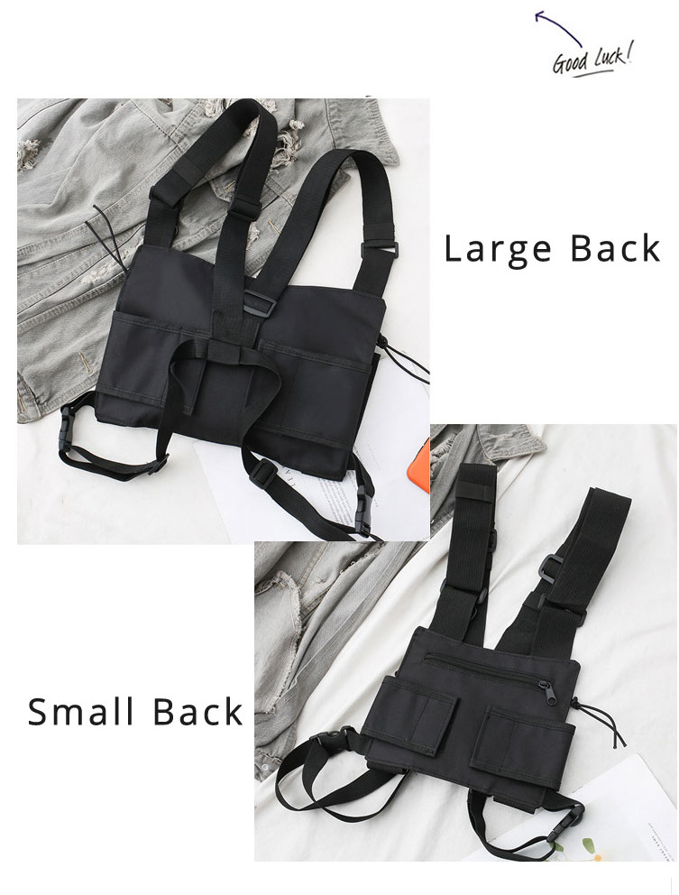 HTB1e.caXV67gK0jSZPfq6yhhFXaX - Functional Tactical Chest Bag For Men Fashion Bullet Hip Hop Vest Streetwear Bag Waist Pack Women Black Chest Rig Bag 233