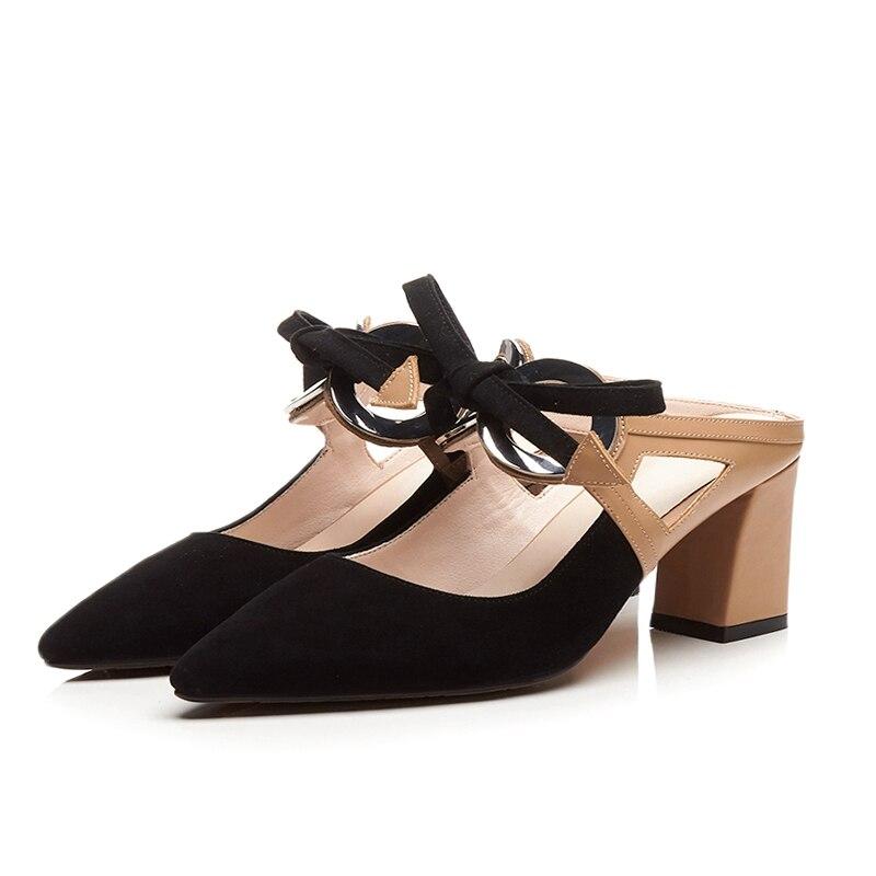 L02 Decoración Genuino Correas Beige Zapatos blanco Cuero Hebilla Mujeres Nuevo Verano De En Alta Sandalias Deslizamiento Lenkisen Cinta Moda Casual Peep Toe nwECgHSSq8