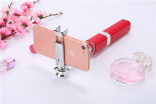 цена на Selfie Stick Bluetooth Mini Monopod with Fill Light Swith for iPhone Samsung HUAWEI Smartphone without Tripod S1