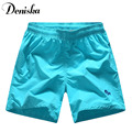 5 Colors Mens shorts 2016 summer Solid Quick-drying Shorts Casual De Marca Famosa Loose Print  Shorts Men shorts