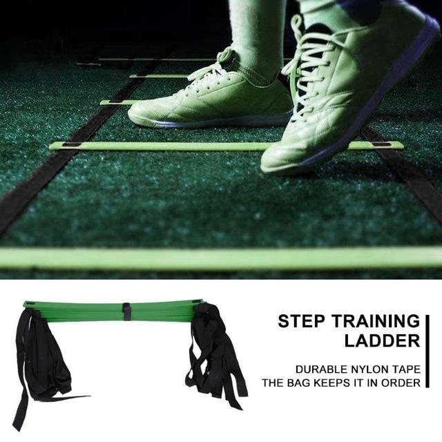 4/6/7/9/12/14 Rung Nylon Straps Agility Training Ladders Fitness Equipment 5
