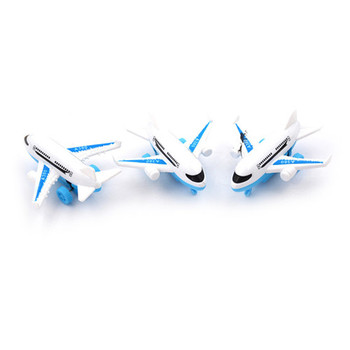 Durable Air Bus Model Airplane Toy Planes for Children Diecasts Vehicles Random send 9cm X 8.5cmX 4cm image