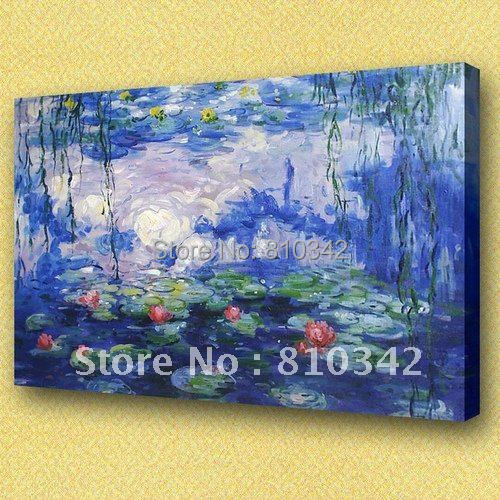Monet oil painting,wholesale, wall picture,home decorate, famous painting reproduction Monet18