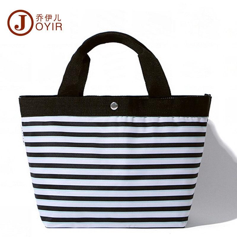 JOYIR Striped Shop Online Handbags Women Nylon Beach Bag Big waterproof Travel Shoulder Bags Pochette Sac a Main Femme de Marque