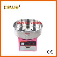 Нержавеющая сталь Электрический cotton candy floss машина ce RoH коммерческих 1 единица/30 секунд 110 В 220 В 1080 Вт сладкая вата maker