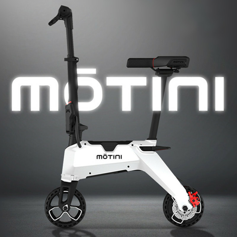 Mini Adult <font><b>Electric</b></font> <font><b>Scooter</b></font> 8 Inch 2 Wheels <font><b>Electric</b></font> <font><b>Scooters</b></font> <font><b>250W</b></font> Protable Folding Light <font><b>Electric</b></font> Bike With Removable Battery image
