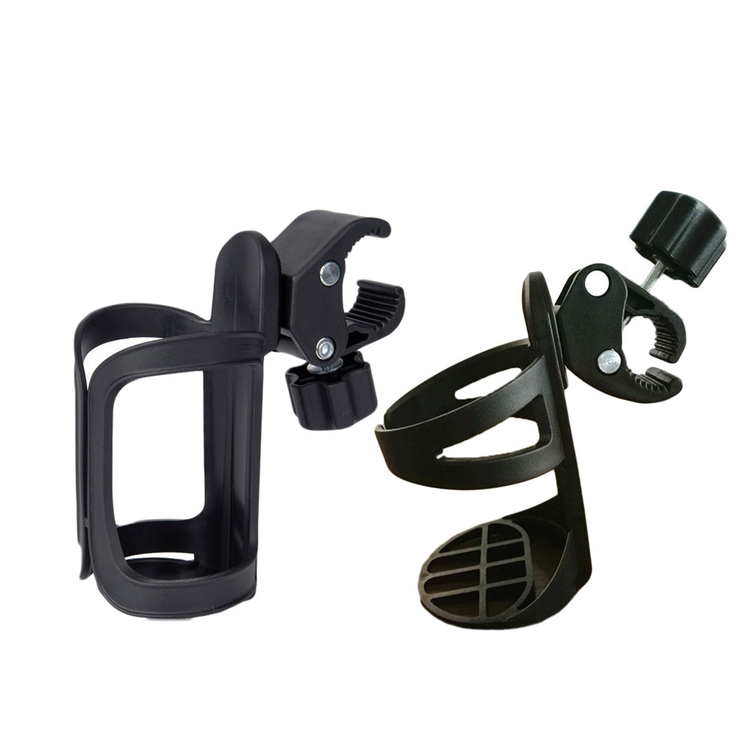 New Baby Stroller Cup Holder Rack Bottle Universal 360 Rotatable Cup Holder for Pram Stroller Carrying Case Milk Bottle Cart in Strollers Accessories from Mother Kids