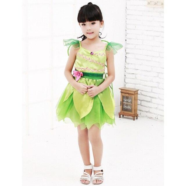 girls light green angel dress halloween costume for kids stage magic fairy princess dress cosplay size - Kids Angel Halloween Costume