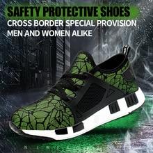 Kevlar EVA Bulletproof Protective Shoes Spring Ultra-light Anti-smashing Anti-piercing Work