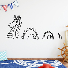 DIY Art Dinosaur Home Decor Vinyl Wall Stickers Waterproof Decals Room Decoration