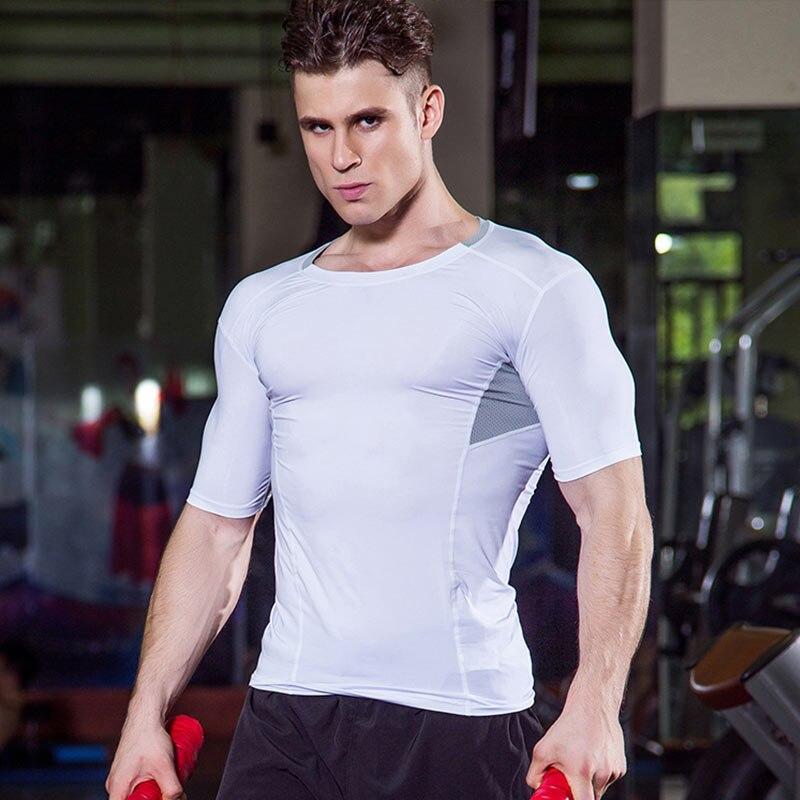 Compression Jogging Tights Fitness Men Shirt Sportswear Soccer Jersey Training Demix Running T-Shirt Gym Men Shirt Sport Suit