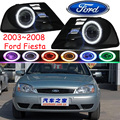Fiest fog light ,2003~2008;Free ship!Fiest daytime light,2ps/set+wire ON/OFF:Halogen/HID XENON+Ballast,Fiest