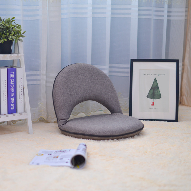 Padded Floor Chair With Adjustable Backrest Living Room Furniture Leisure  Chair For Meditation, Seminars,