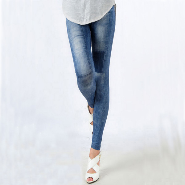 Women's Denim Leggings,Thin Jeans, Casual Denim Leggings 15