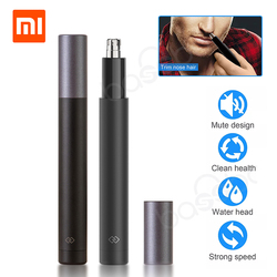 Xiaomi Mini Nose Hair Trimmer HN1 Sharp Blade Body Wash Portable Minimalist Design Safe trim Nose hair For Family Daily Use