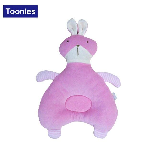 Newborn memory slow rebound velvet cartoon rabbit pillow cotton baby pillow baby pillow wholesale