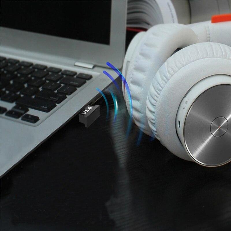Creacube V5.0 Wireless USB Bluetooth 5.0 Adapter Bluetooth Dongle Music Receiver Adaptador Bluetooth Transmitter For PC RTL8761B 3