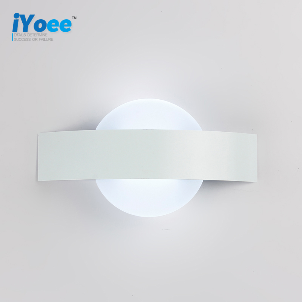 Freeshipping Bathroom LED Mirror Light AC85 265V Wireless Make Up Modern  Design Wall Lamps Loft Style Led Indoor Light Fixture