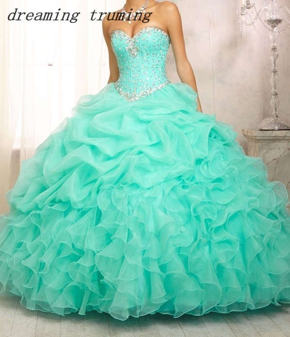 Ball-Gowns Jacket Quinceanera-Dresses Anos Sweet 16 Green/pink Cheap 15-Years Long