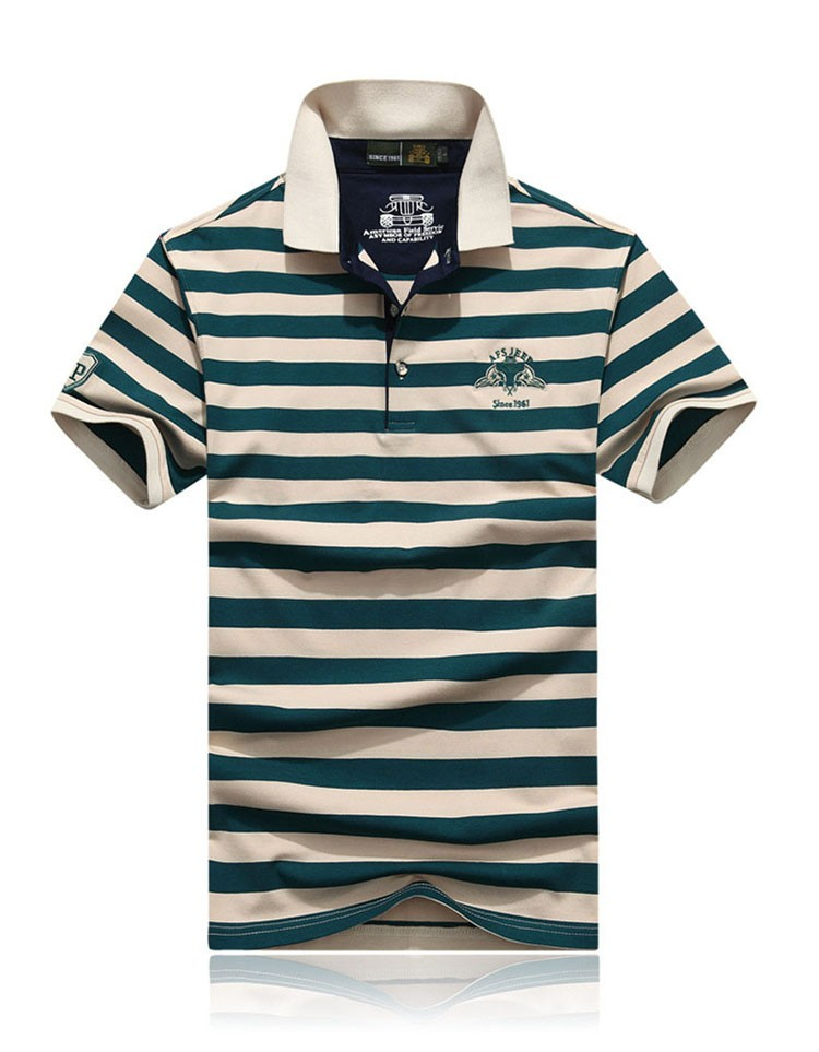 Polo Shirts Men Fashion Brand Striped Cotton Polos Slim Fit Summer Short Sleeves Male Casual Shirts Top Quality Plus Size 3XL (5)