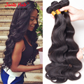 "Janis Hair Products Cambodian Virgin Hair Body Wave 4 pcs/lot  100%Human Hair Weave Wavy Cambodian Hair 8""-30"""