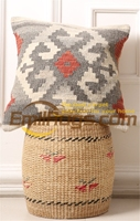 Handmade Kilim Diy Craft Gift Hand Woven Wool Varies Gorgeou Needlepoint Woolen Decorative