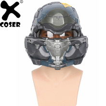 XCOSER Halo 5 Guardians Spartan Helmet Game Cosplay Helmet High Quality Resin Full Head Mask Helmets Cosplay Props Accessories