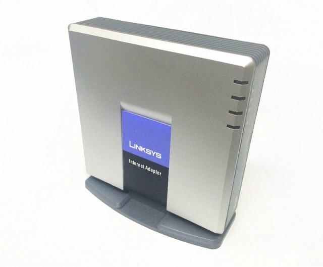 LINKSYS PAP2T-NA SIP VOIP Adaptador de Teléfono VoIP teléfono Adaptador de Telefonía Por Internet de Linksys PAP2T Dos Puertos Del Teléfono sin la caja al por menor
