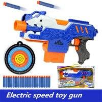 Tabanca keskin nişancı tüfek Elektrik yumuşak kurşun oyuncak tabanca plastik demonte ve monte edilebilir oyuncak tabanca çocuk makineli için oyuncaklar