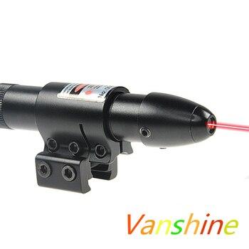 レッド&グリーンドットレーザー視力w/バレル11ミリメートル/20ミリメートルマウント/レール狩猟エアガン空気銃レーザー視力戦術ライフルエアソフトレーザーサイト