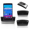 New Stand Charger For LG Dual Sync Desktop Battery Dock Station Cradle Charger with OTG for LG G4 Free Shipping
