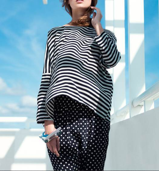 100% silk blouse shirt chiffon blusas long sleeve women striped oversized big size blouse runway blouse shirt high quality 2017