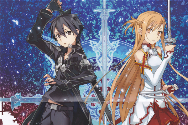 New Anime Sword Art Online Wallpapers Custom Canvas Posters Sword Art Online Wall Stickers kids Bedroom Home Decoration #PN#411#