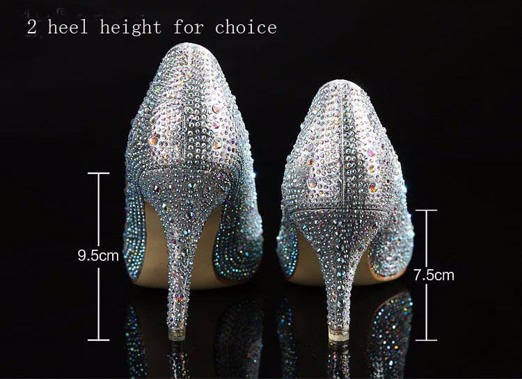 الكريستال أحذية Carollabelly النساء 3