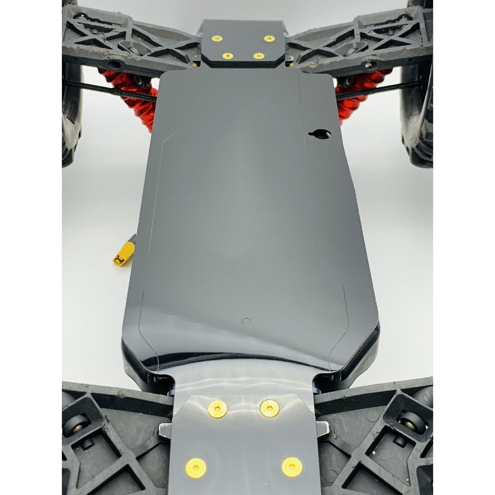 Nylon Mirror Chassis Guard Full Weave Protection for TEKNO MT410 EB48.4 SCT410.3