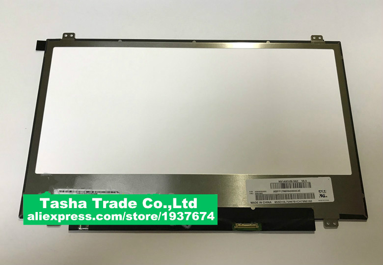 NV140FHM-N62 LP140WF7 SPC1 N140HCA-EBA N140HCE-EN1 For Lenovo small trendy 7000 V720-14IFI 14-inch narrow bezel LCD screen free shipping original new n140hca eba n140hca eba 14 inch laptop lcd screen