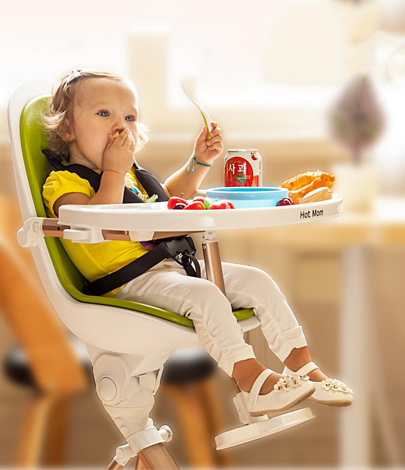 New hot momchildren's dining chair multi-purpose portable baby dining chair folding baby dining chair dining chair hot new multi purpose infrared babies