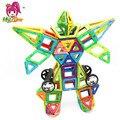 106 unids tamaño grande diseñador magnético bloques de construcción de modelos y juguetes de construcción enlighten ladrillo ladrillos juguetes magnéticos para niños