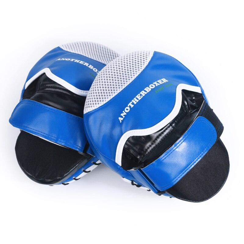 2017 new boxing hand target Super MMA Punch Pad Focus Sanda Training Gloves Karate Muay Thai Kicking pad weman/man 2pcs/lot taekwondo sanda boxing training target black red size m