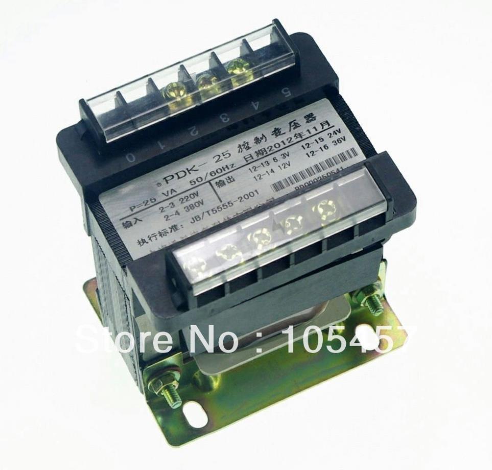 (1)Output AC 0-6.3V-24V-36V-220V Single Phase Control Transformer 25VA output ac 0 6 3v 12v 24v 36v single phase control transformer 25va toroidal transformer