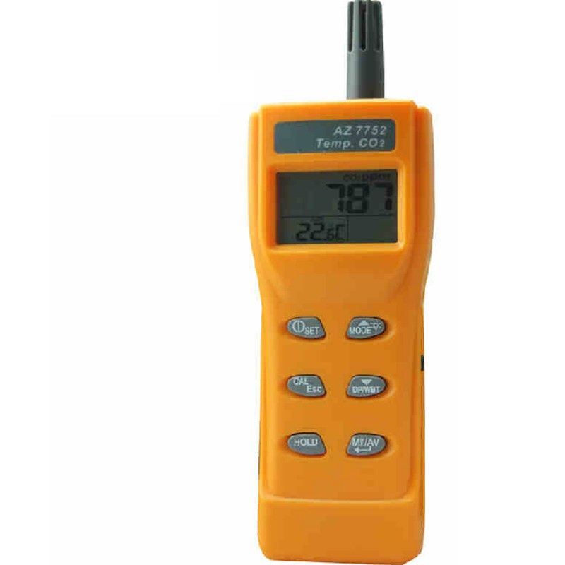 Handheld portable carbon dioxide gas concentration detector alarm carbon dioxide detector CO2 leak tester instrument factory direct carbon dioxide gas welding gas mixture co2 pressure reducer heating accessories table gh100