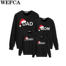 New Arrive Family Matching Outfits Father Mother Kids Long S