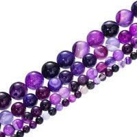 Purple Stripe Agates
