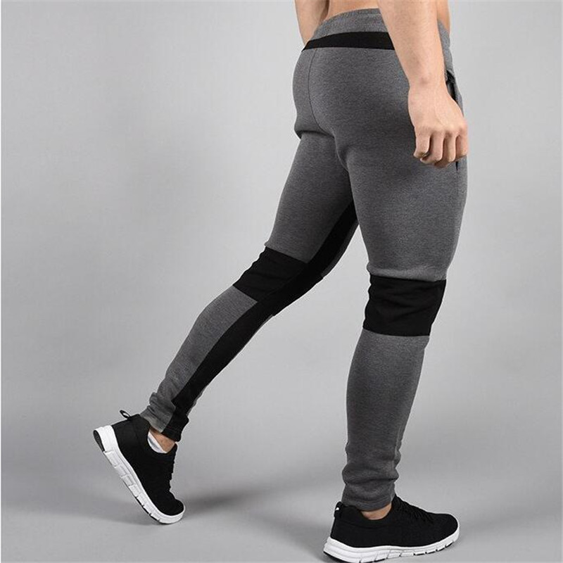 Image 2 - 2018 New Running Tights Men Joggers Compressed Pants Gym Men's Bodybuilding Pants Sports Skinny Legging Sportswear Long Trousers-in Running Pants from Sports & Entertainment